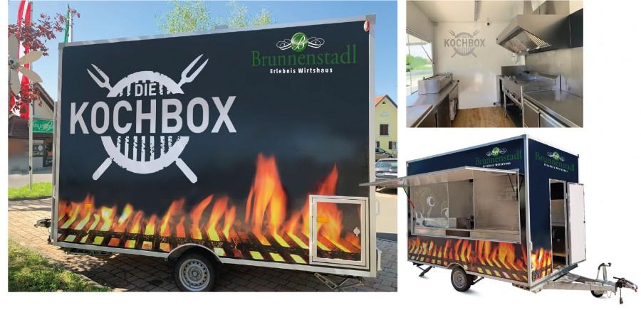 Mobiles Catering mit der Kochbox